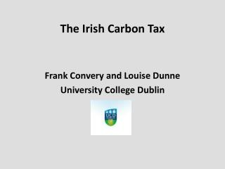 The Irish Carbon Tax