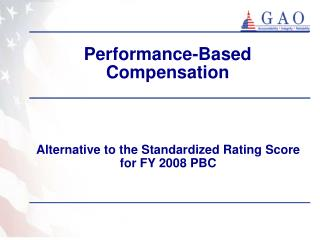 Performance-Based Compensation
