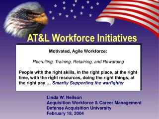 AT&L Workforce Initiatives
