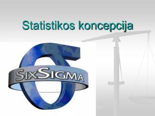 Statistikos koncepcija