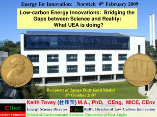 Low-carbon Energy Innovations:  Bridging the Gaps between Science and Reality: