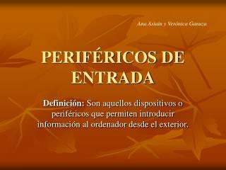 PERIF RICOS DE ENTRADA
