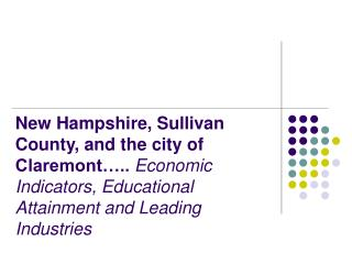 New Hampshire's Strong Economic Recovery From Early 2000s Recession