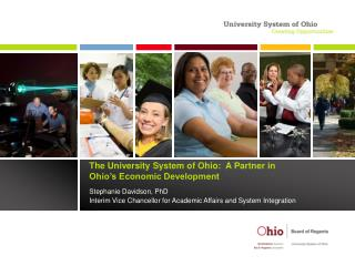 The University System of Ohio:  A Partner in  Ohio's Economic Development
