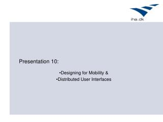Presentation 10: