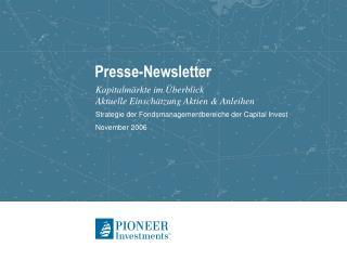 Presse-Newsletter