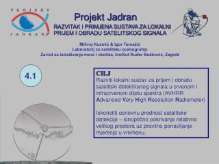 Projekt Jadran