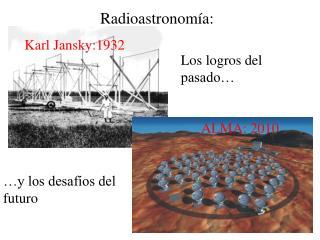Radioastronomía: