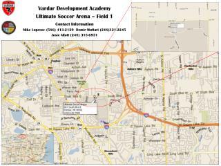 Vardar Development Academy Ultimate Soccer Arena – Field 1