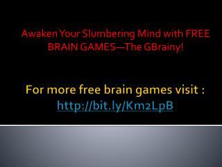Free Barain Game