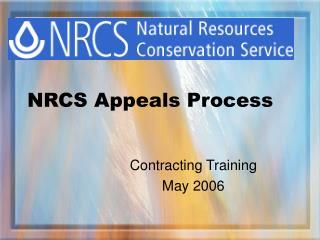 NRCS Appeals Process