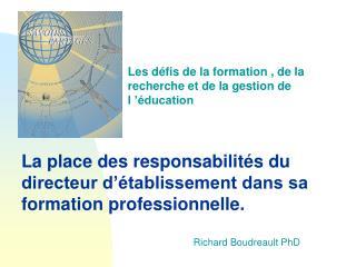 Richard Boudreault PhD