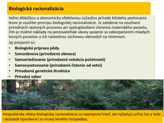 Biologická racionalizácia