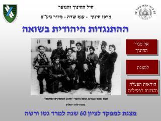 ההתנגדות היהודית בשואה