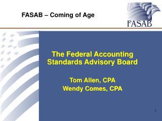 FASAB – Coming of Age
