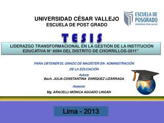 Lima - 2013