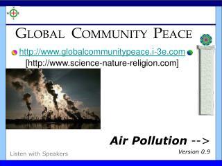 GLOBAL  COMMUNITY  PEACE