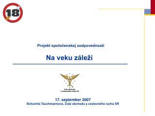 Projekt spoločenskej zodpovednosti
