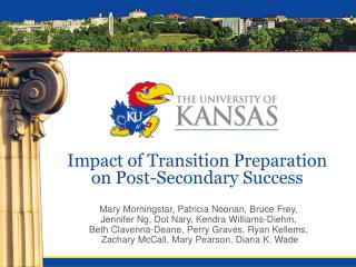 Impact of Transition Preparation on Post-Secondary Success