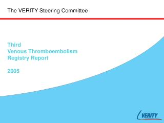 The VERITY Steering Committee
