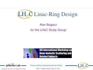 LHeC  Linac-Ring Design