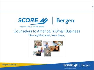 Counselors to America ' s Small Business S erving Northeast, New Jersey