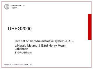 UREG2000