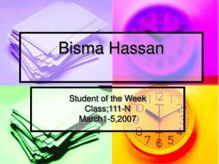 Bisma Hassan