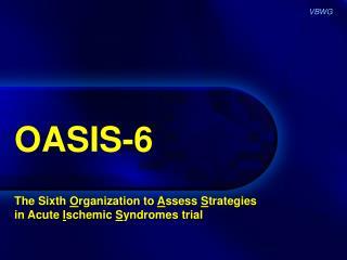 OASIS-6