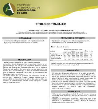 T�TULO DO TRABALHO