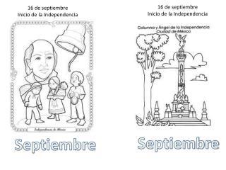 16 de septiembre Inicio de la Independencia