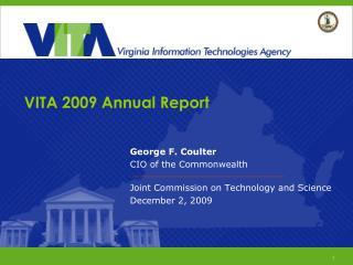 VITA 2009 Annual Report