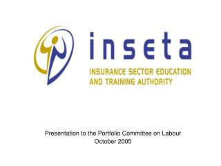 Presentation to the Portfolio Committee on Labour October 2005