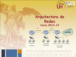 Arquitectura de  Redes Curso 2013-14
