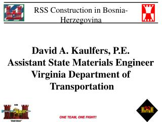 RSS Construction in Bosnia-Herzegovina