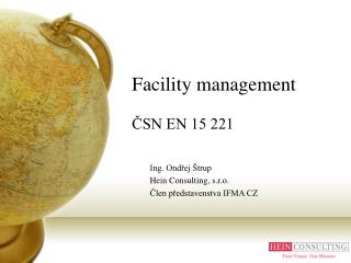 Facility management  ČSN EN 15 221