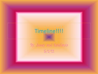 Timeline!!!!