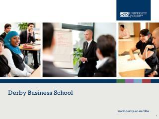 Derby Business School