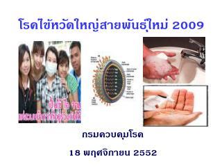 โรคไข้หวัดใหญ่สายพันธุ์ใหม่ 2009
