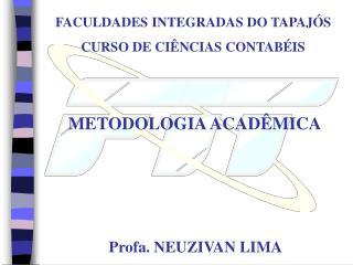 METODOLOGIA ACADÊMICA