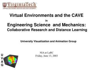 University Visualization and Animation Group