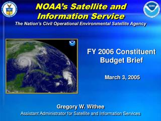 NOAA�s Satellite and Information Service