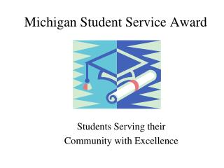 Michigan Student Service Award