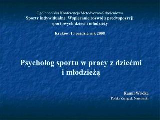 Kamil Wódka Polski Związek Narciarski