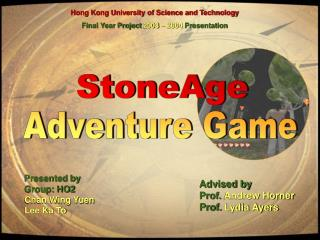 Hong Kong University of Science and Technology Final Year Project  2003    2004  Presentation