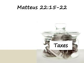 Matteus 22:15-22
