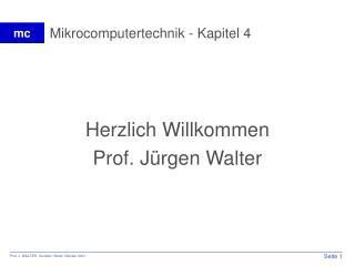 Mikrocomputertechnik - Kapitel 4