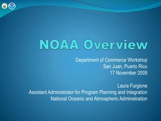 NOAA Overview