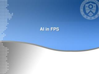 AI in FPS