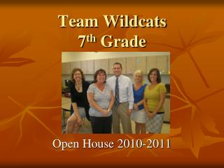 Team Wildcats 7 th  Grade
